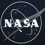 NASA Glow Logo T-Shirt