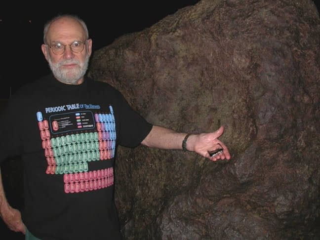 Oliver Sacks Periodic Noir