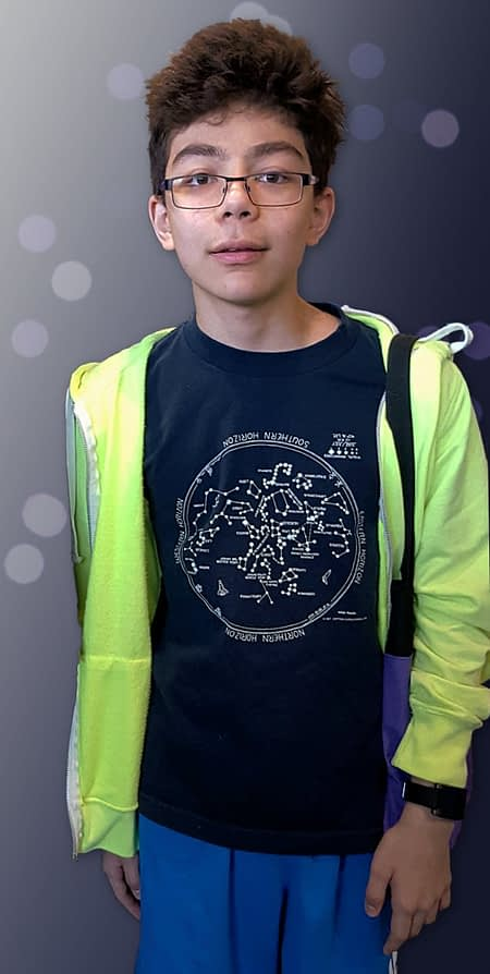 Star Chart T-shirt for kids