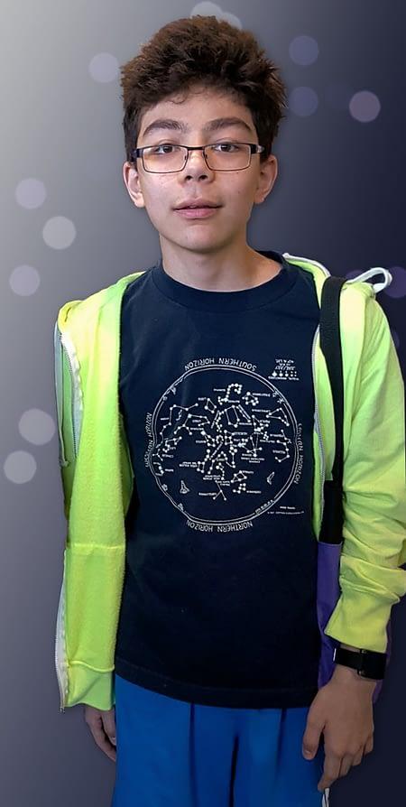 Star Chart T-shirt for kids