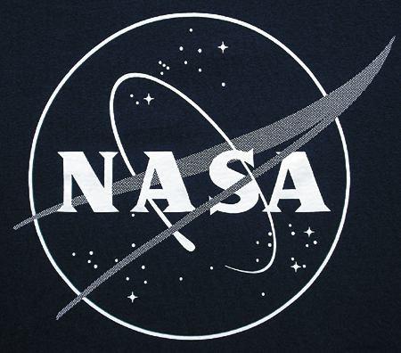 NASA Glow Logo T-Shirt