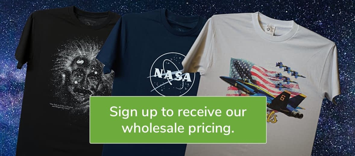 Wholesale Pricing on T-Shirts!